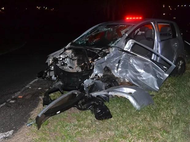 acidente Ibirá (Foto: André Ferreira)
