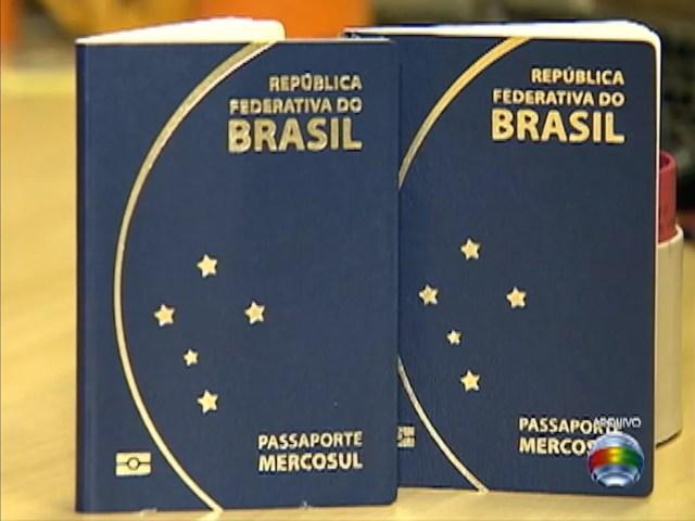 Emissão de passaportes é suspensa pela Polícia Federal (Foto: Reprodução / TV Fronteira)