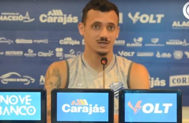 Bruno Mota atuou em 18 jogos da Série B — Foto: Reprodução/CSA