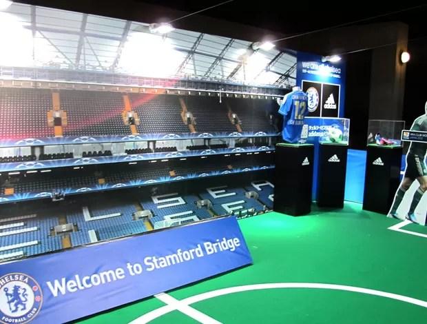 loja Chelsea produtos Stamford Bridge Yokohama (Foto: Cahê Mota / Globoesporte.com)
