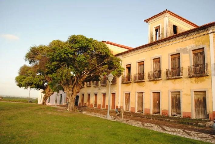 Fachada do Museu Casa História de Alcântara — Foto: Wikipédia