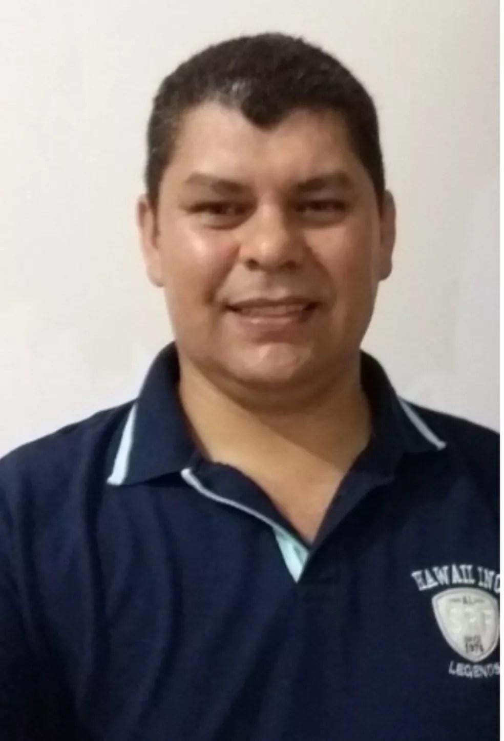 Policial Delmar Camargo, 45, matou a ex-companheira, o filho e se matou, diz PM. — Foto: Reprodução/ Facebook