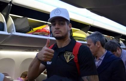 Jean é também uma aposta do São Paulo para o futuro (Foto: Érico Leonan / saopaulofc.net)