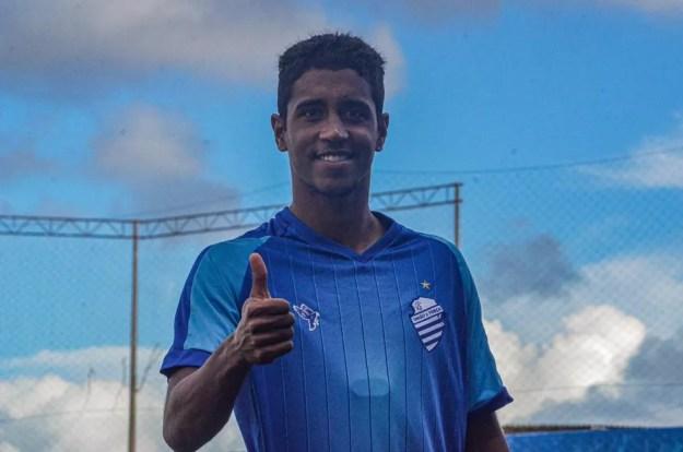 Gabriel diz estar confiante para a reta final — Foto: Augusto Oliveira/Ascom CSA