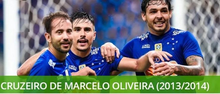 Melhores times brasileiro do século Cruzeiro de Marcelo Oliveira  — Foto: Info Esporte