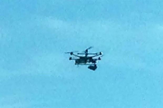 Dono de empresa pediu desculpas e explicou que drone estava, na verdade, fotografando um terreno onde seria construído um escritório (Foto: Reprodução/Facebook/Lisa Pleiss)