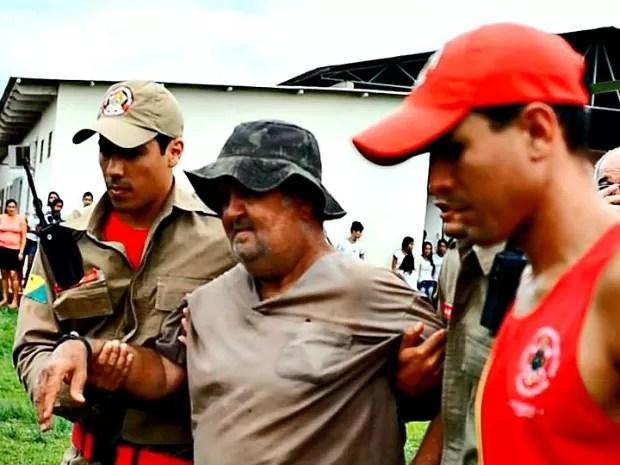 Jonas Guilherme chega a Sena Madureira após ser resgatado (Foto: Douglas Barros/ Arquivo pessoal)