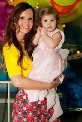 Viviane Victorette e a filha, Júlia (Foto: Arquivo pessoal)