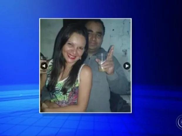 Aline e Eduardo estava juntos há cerca de dois anos (Foto: Reprodução/TV TEM)