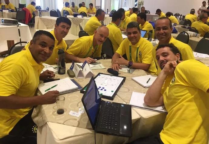 Betinho em curso na CBF (Foto: Arquivo/Betinho)
