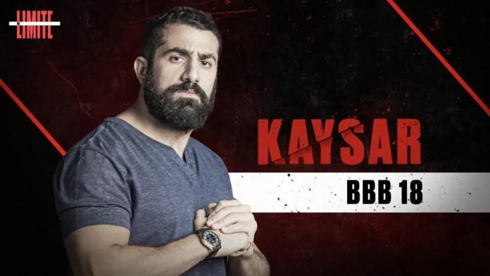 Kaysar é um dos participantes do 'No Limite' — Foto: Globo