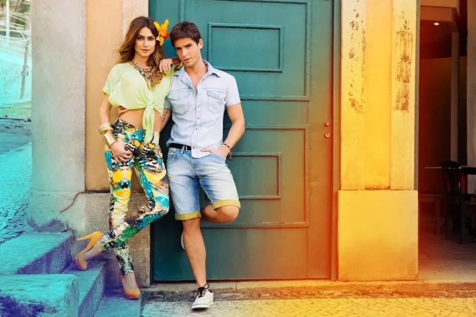 Jonatas Faro e Thaila Ayala (Foto: Yuri Sardenberg/Divulgação)