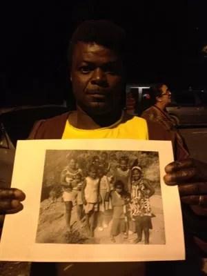 Sebastião perdeu a ex-mulher e dois filhos em um deslizamento de terra em Petrópolis (Foto: Isabela Marinho/G1)