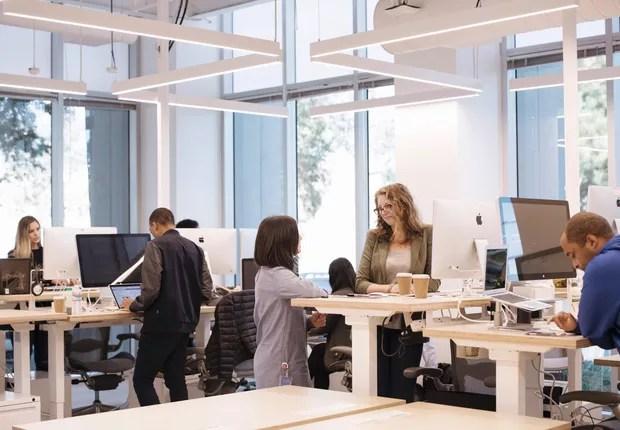 """""""open office"""" diminui a produtividade dos funcionários"""