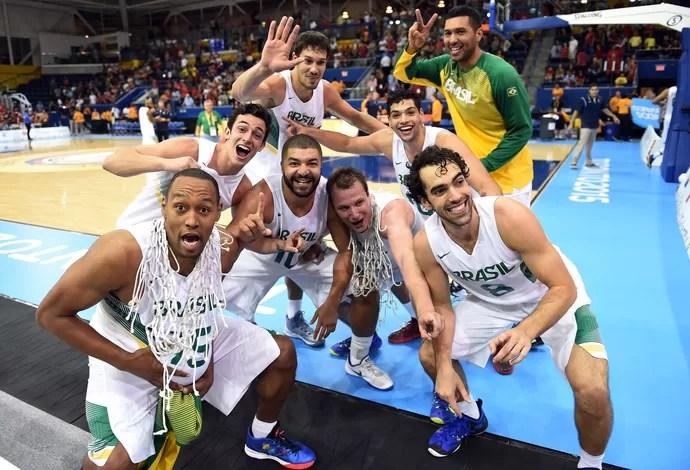 Basquete; Brasil; Jogos Pan-Americanos (Foto: Gaspar Nobrega/inovafoto)