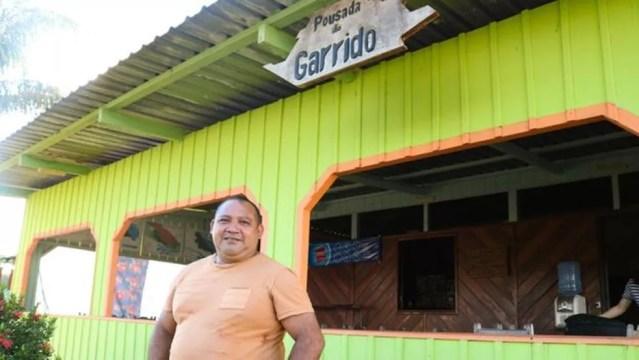 Pousada no Amazonas; para estudioso do tema, estrutura adequada e sustentável para turistas ainda é desafio na Amazônia — Foto: Dirce Quintino / FAS
