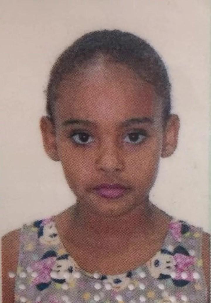 Gabriela Ximenes, de 10 anos, morreu após ser agredida por colegas na saída da escola em Campo Grande (MS). — Foto: TV Morena/Reprodução