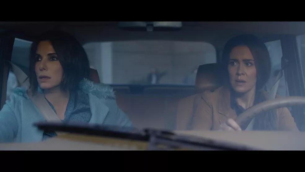 Filme original Bird Box chega em dezembro ao catálogo da Netflix com Sandra Bullock e Sarah Paulson no elenco — Foto: Divulgação/Netflix