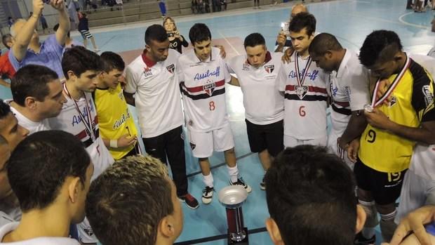 São Paulo/Mogi x Corinthians Metropolitano sub-20 futsal (Foto: Petterson Rodrigues)
