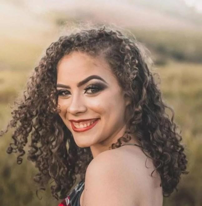 Laisla de Souza Olmo, de 18 anos — Foto: Reprodução/TV Gazeta