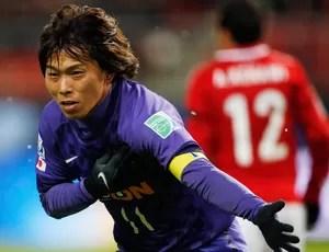 Hisato Sato gol Sanfrecce (Foto: Reuters)