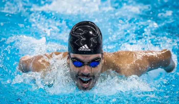 Daniel Dias evento-teste natação paralímpica (Foto: Marcio Rodrigues/MPIX/CPB)