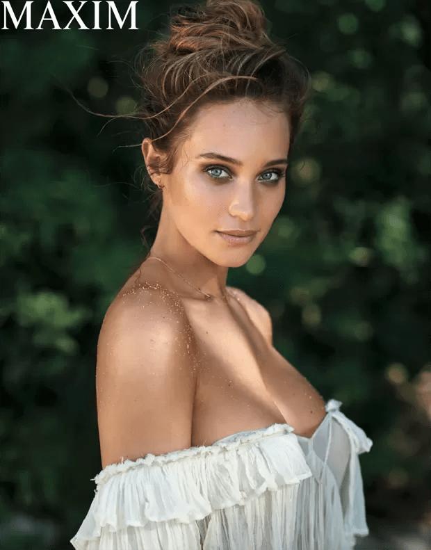 Hannah Davis (Foto: Reprodução/Maxim)