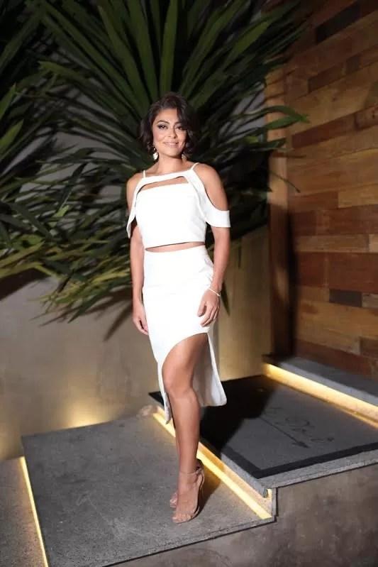 Juliana Paes em evento com look sensual (Foto: Breno da Matta)