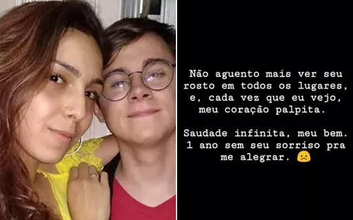 Namorada de Rafael Miguel sobre um ano de morte do ator ...