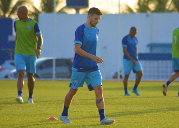 Rodrigo Pimpão deve retornar à equipe titular do CSA — Foto: Auguto Oliveira/Ascom CSA