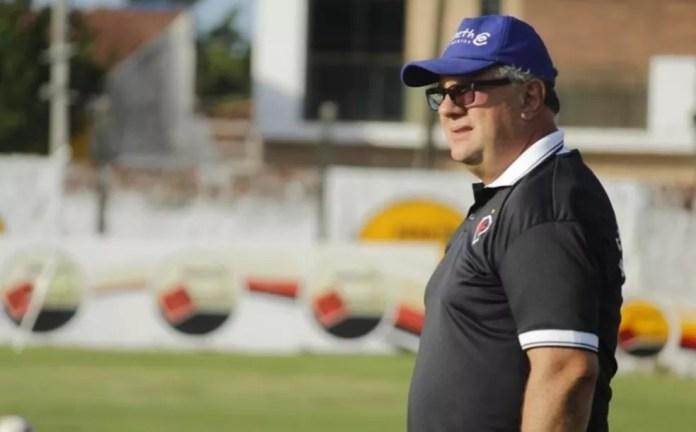 Marcelo Vilar está de volta ao comando do Botafogo-PB — Foto: Rayssa Melo / Botafogo-PB