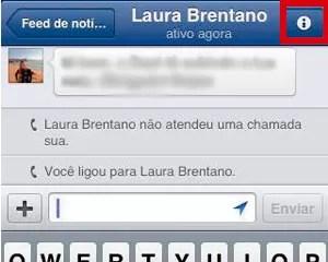 Ligações gratuitas pelo aplicativo móvel do Facebook (Foto: Reprodução)