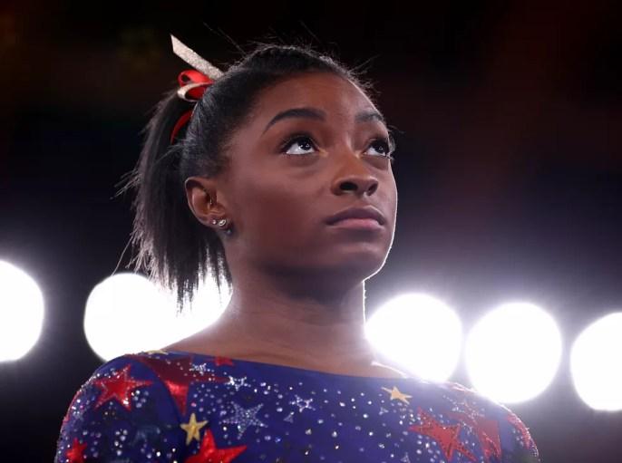 Simone Biles, Jogos de Tóquio — Foto: REUTERS/Mike Blake