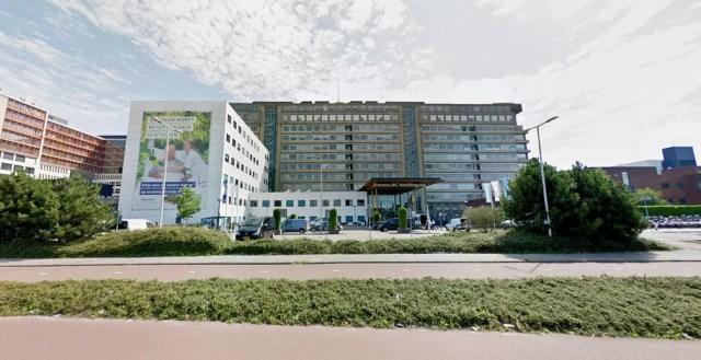 Centro Médico da Universidade Erasmus, em Roterdã (Foto: Reprodução/Google Street View)