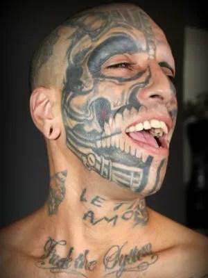 Musquito disse que já tatuou 70% do corpo (Foto: Fabio Rodrigues/G1)