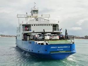 'Hora marcada' do ferry boat para viagens de final de ano ainda está disponível na Bahia (Foto: Divulgação)