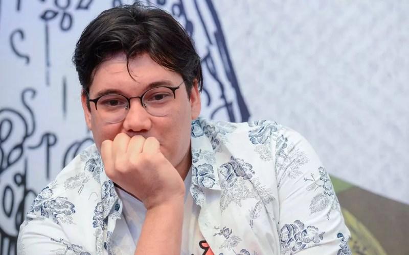 Edgard Abbehusen participou dos debates da segunda mesa da Flica deste sábado (13) — Foto: Ricardo Prado/Divulgação