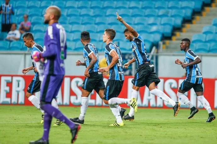 Ceará não passou sequer da primeira fase da Primeira Liga (Foto: Lucas Uebel / Grêmio / Divulgação)