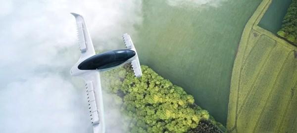 The Jet é o carro voador da fabricante alemã Lilium que deve chegar oficialmente em 2025. — Foto: Divulgação/ Lilium.