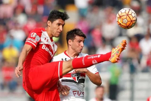 Nemesio Diez Stadium; Calleri; Toluca x São Paulo; Libertadores (Foto: Reuters)