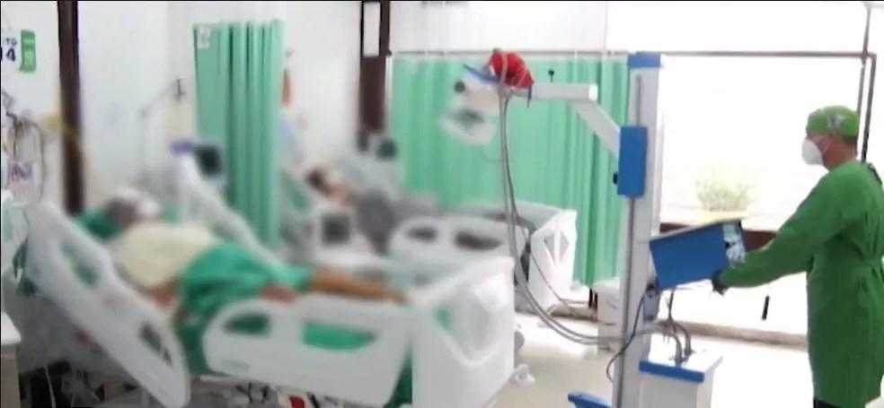 Leitos de UTI do Acre continuam lotados nas unidades de saúde — Foto: Secom