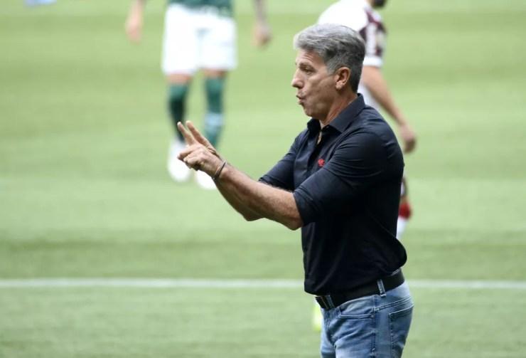 Renato Gaúcho, técnico do Flamengo — Foto: Marco Ribolli