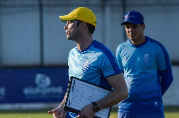 Bruno Pivetti estreou contra o CSE — Foto: Augusto Oliveira/ASCOM CSA