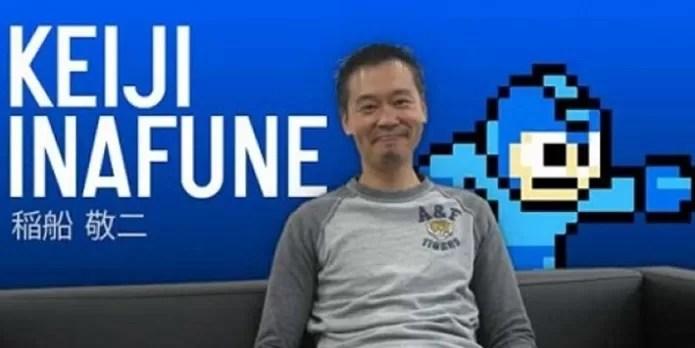 Keiji Inafune não criou o personagem Mega Man, mas aperfeiçou a ideia (Foto:Reprodução / g3ar)