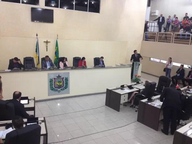 Deputados comentaram veto nesta segunda-feira (9) (Foto: Abinoan Santiago/G1)