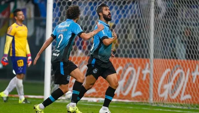 grêmio cruzeiro douglas arena fábio (Foto: Lucas Uebel/Grêmio FBPA)
