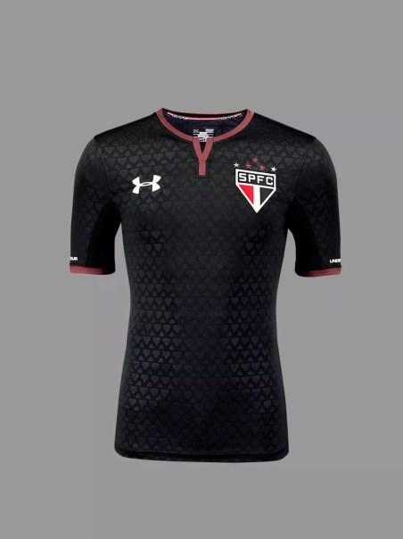 Terceira camisa do São Paulo: fornecedor pode de material esportivo pode mudar (Foto: Divulgação)