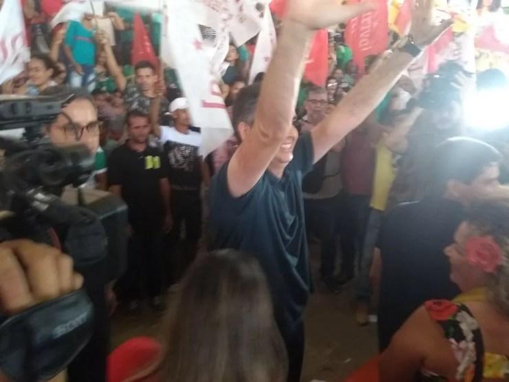 Candidato diz que se sente preparado para assumir cargo e que vai debater propostas durante a campanha (Foto: Aline Vieira/Rede Amazônica Acre)