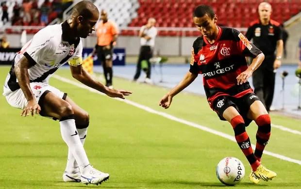 Dedé e Rafinha Vasco x Flamengo (Foto: Rudy Trindade / VIPCOMM)