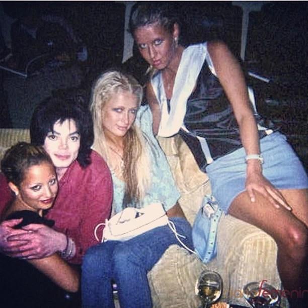 Paris Hilton posta foto antiga (Foto: Instagram / Reprodução)